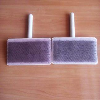 Кардеры для пуха и шерсти плоские 21 см х 13 см