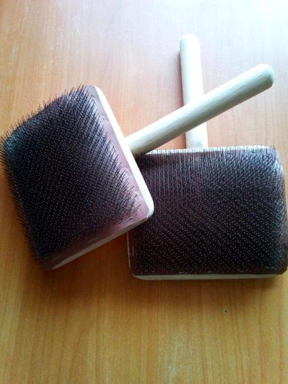 Кардеры-чесалки для пуха и шерсти плоские 21 см х 13 см